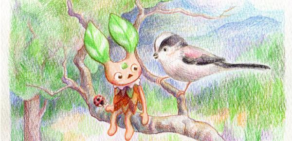 マシュマロ鳥