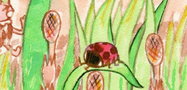 春よびがかり 6ページ目(1枚目表紙からご覧いただけます。)