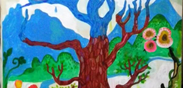 F50号のソラソラの木