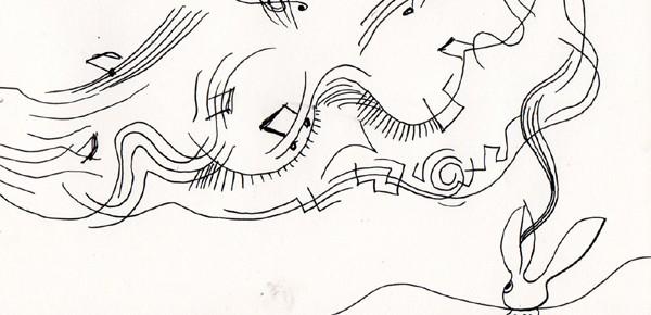 音楽繊維で縫い上げられた入道雲
