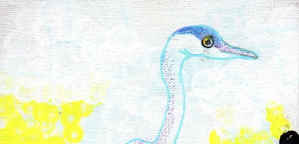 蒼い鷺のグァ